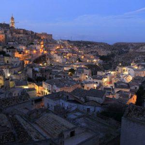 Matera-by-night